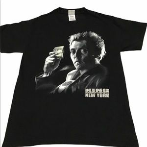 King Of New York t-shirt small Christopher Walken